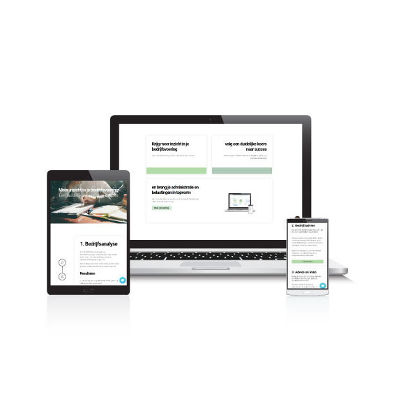 Webdesign for consultant
