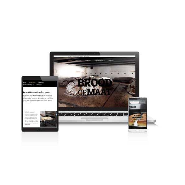 Website vernieuwen Wave Content voor bakkerij
